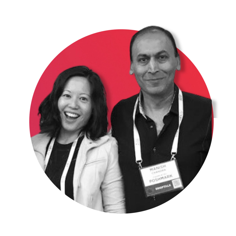 Commerce Community - Manish Chandra and Tracy Sun of Poshmark