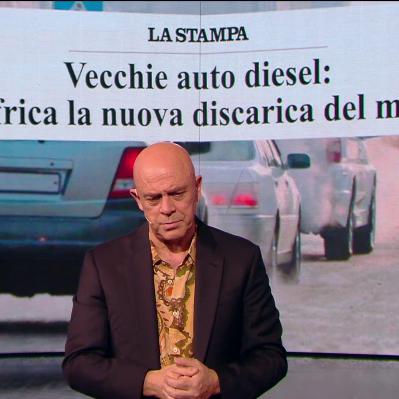"""Maurizio Crozza sull'ambiente: """"All'Onu hanno chiamato Di Maio a parlare, la situazione deve essere fuori controllo anche per loro..."""""""