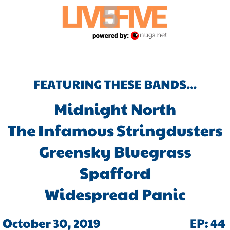 Live 5 - October 30, 2019. Image