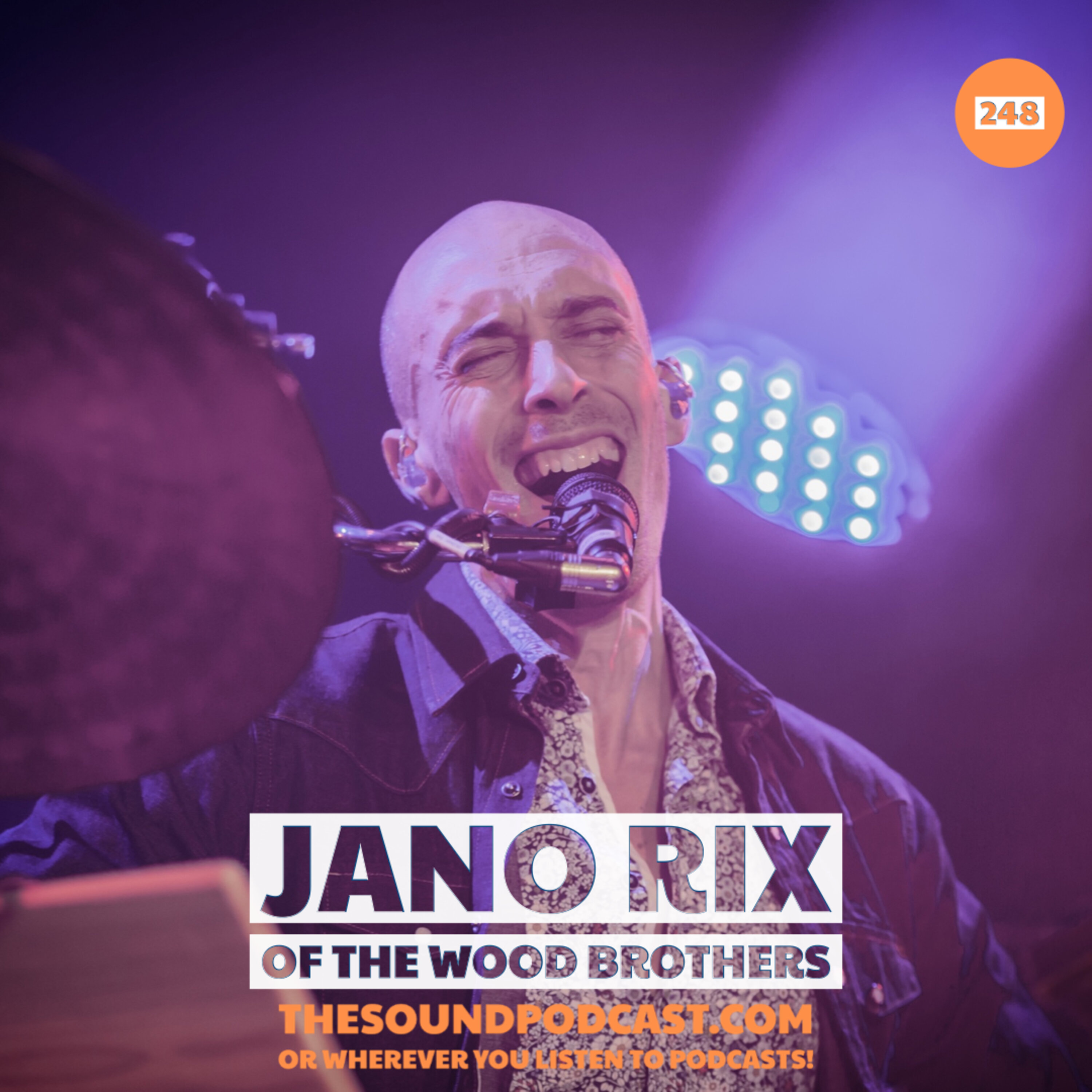 Jano Rix of The Wood Brothers Image