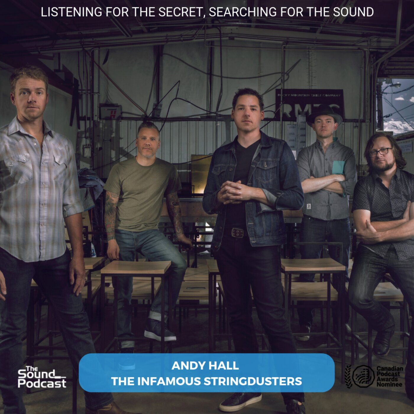 Episode 169: Andy Hall - The Infamous Stringdusters