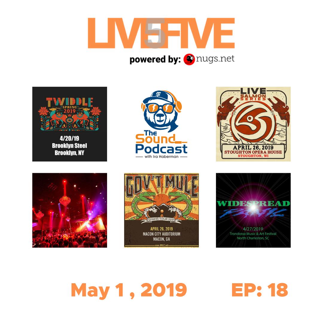 Live 5 - May 1, 2019.