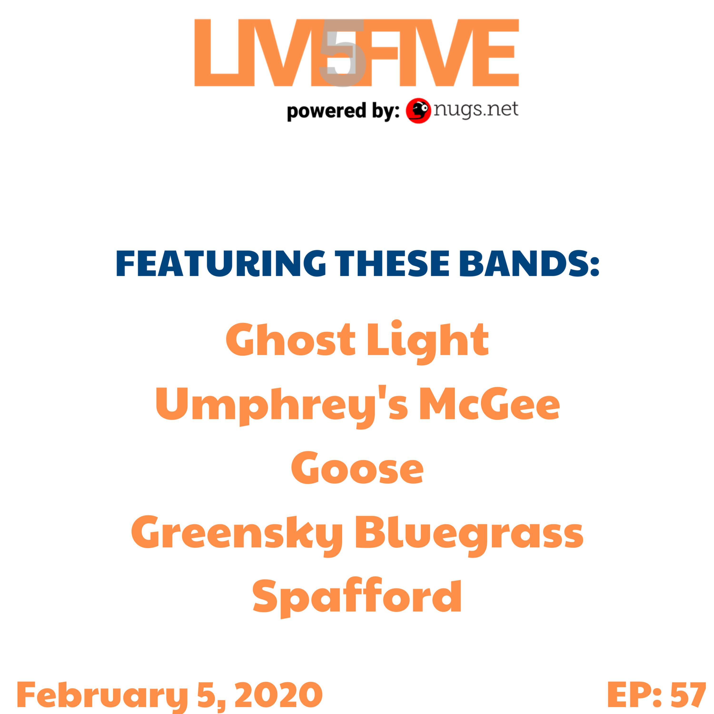 Live 5 - February 5, 2020.