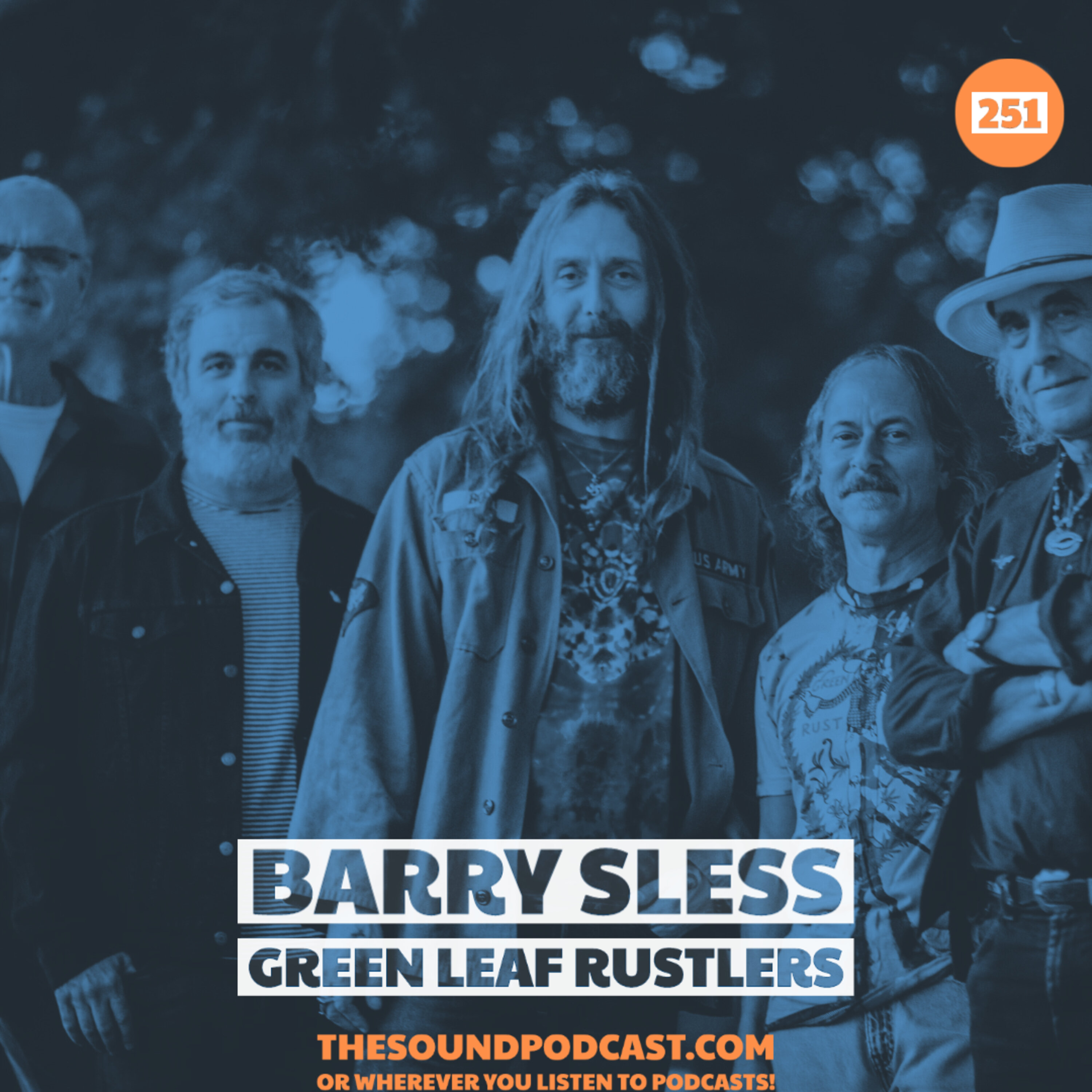 Barry Sless of Green Leaf Rustlers