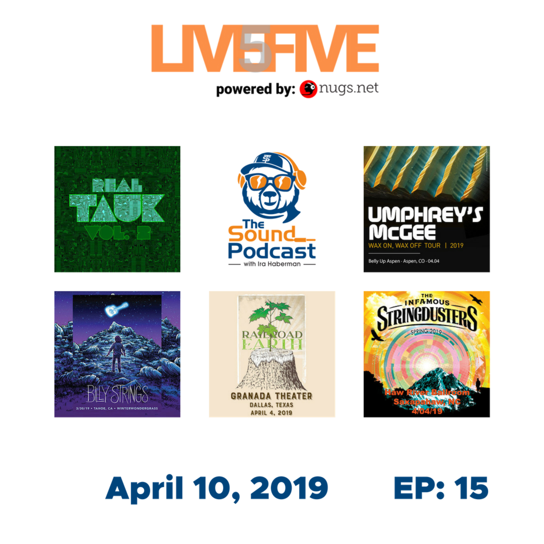Live 5 - April 10, 2019.