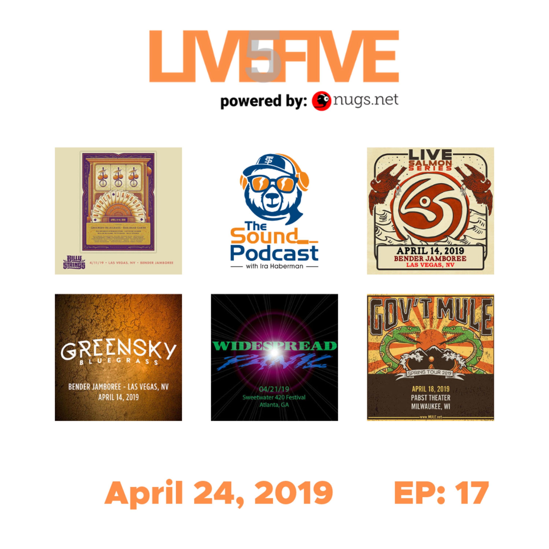 Live 5 - April 24, 2019.