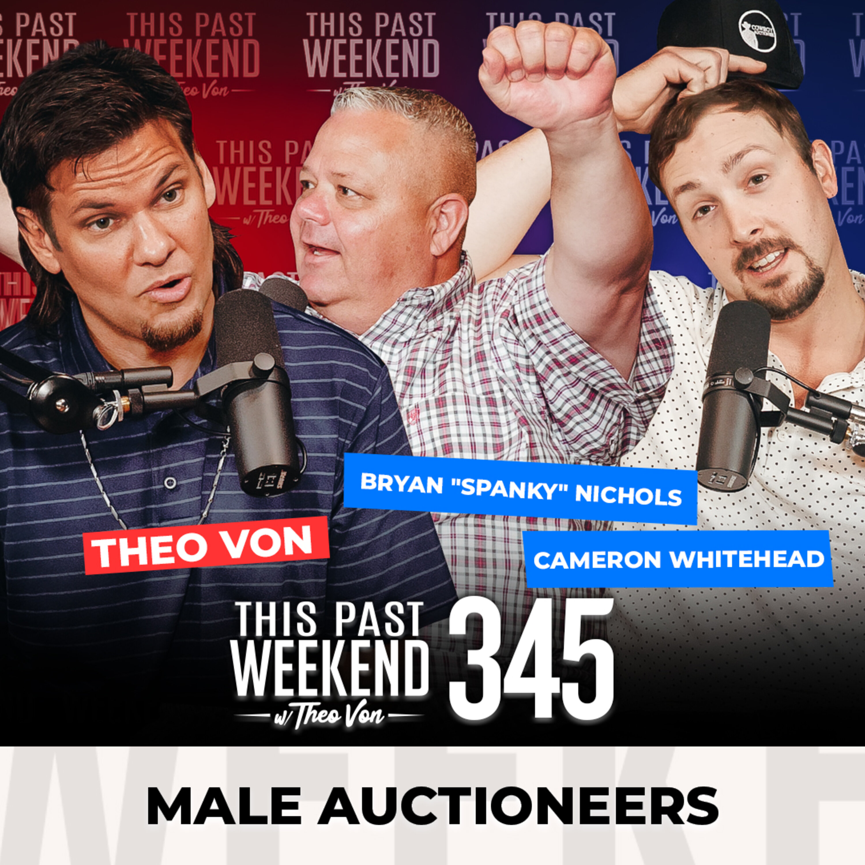 Male Auctioneers
