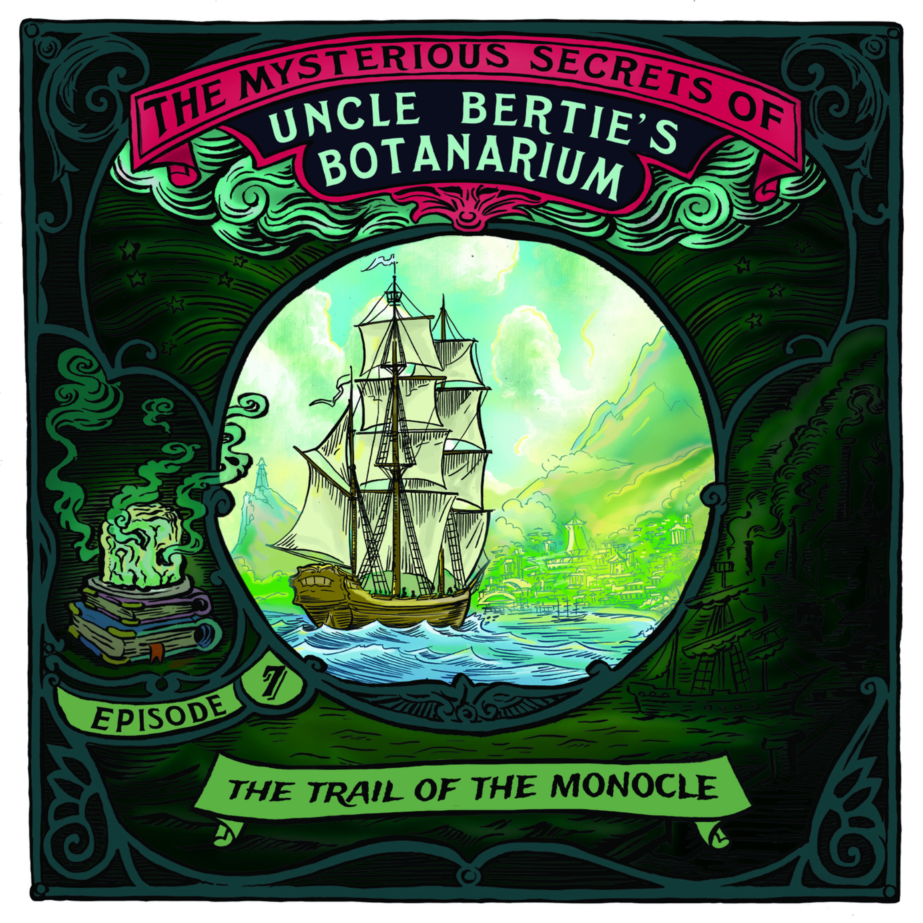 The Mysterious Secrets Of Uncle Bertie's Botanarium