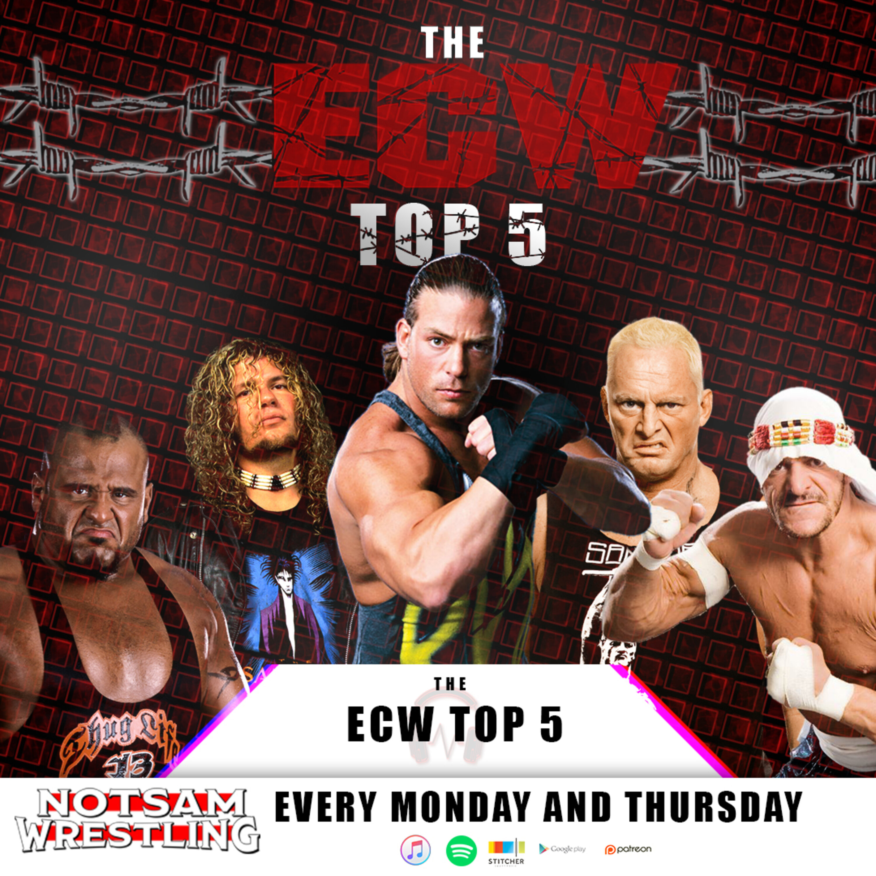 ECW's All Time Top 5 - Notsam Wrestling 309