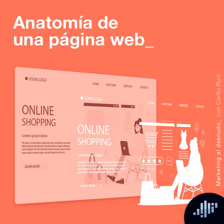 Anatomía de una página web | Marketing al Desnudo