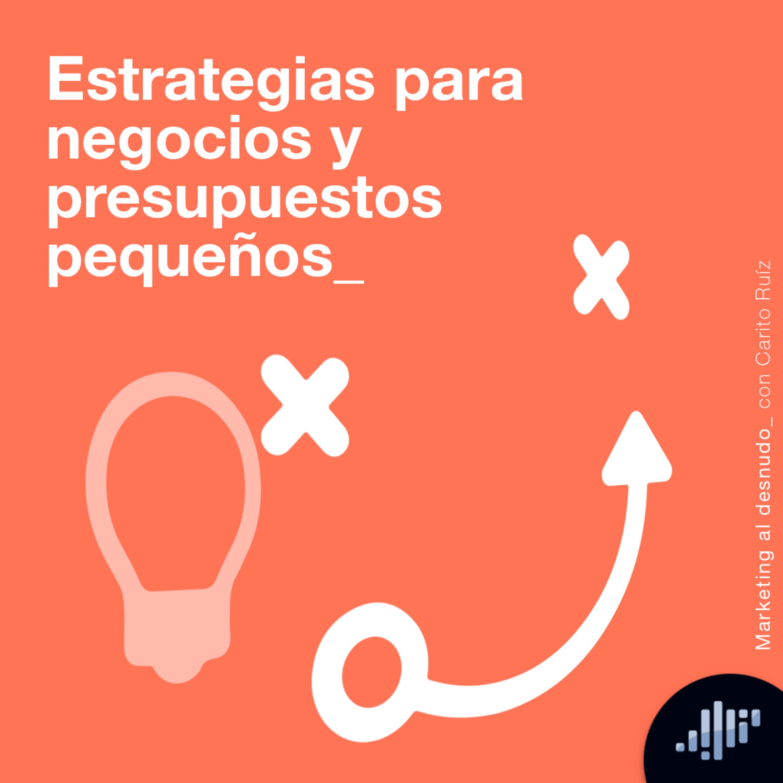 Estrategias para negocios y presupuestos pequeños   Marketing al Desnudo