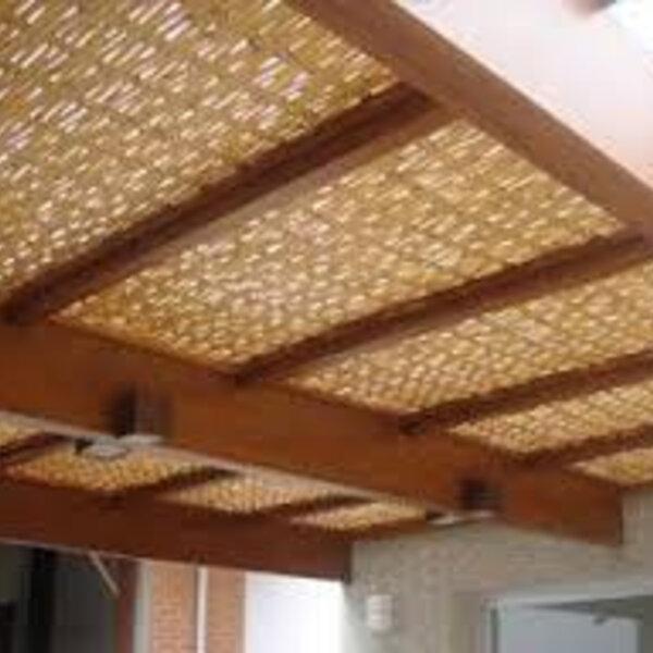 Teto de bambu