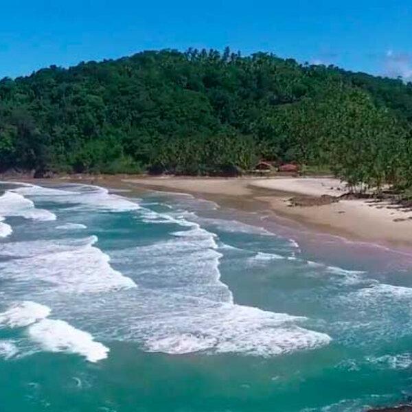 As praia do litoral Sul da Bahia