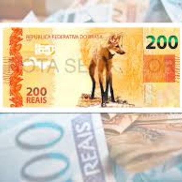 A nota de 200 é um luxo num país onde poucos brasileiros conhecem a cédula de 100