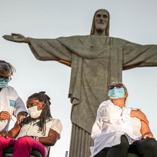 Vacinação no Rio! Só mesmo Cristo na causa...