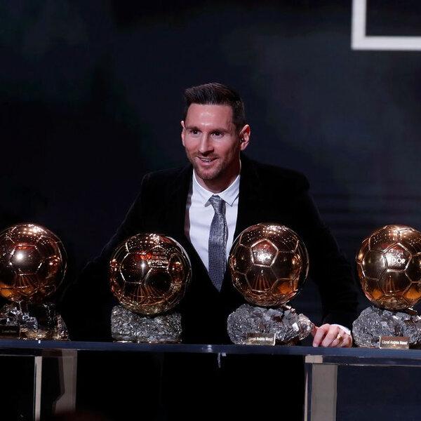 France Football cancela entrega da Bola de Ouro de 2020