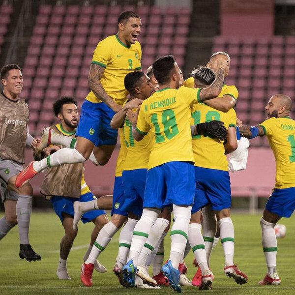 A Seleção brasileira masculina de futebol vai disputar a medalha de ouro nas Olimpíadas de Tóquio