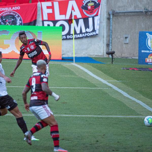A estreia do Flamengo no Brasileirão