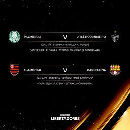 Quem leva a Libertadores nesta temporada?