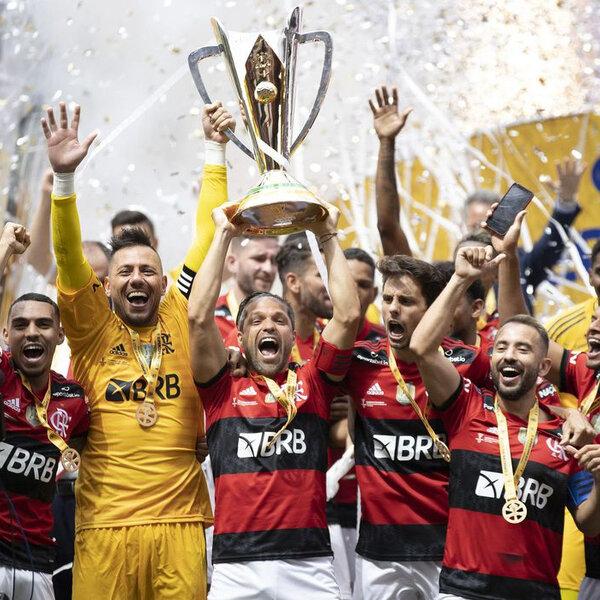 A hegemonia do Flamengo no futebol brasileiro