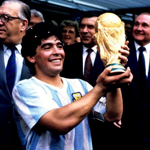 O craque Diego Armando Maradona