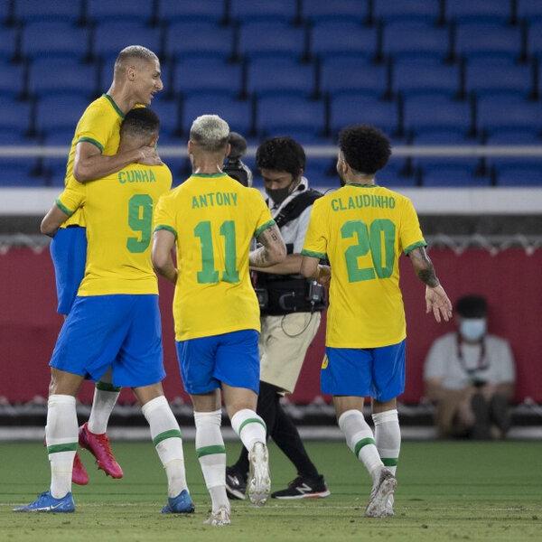 Brasil estreia com vitória na Olimpíada de Tóquio
