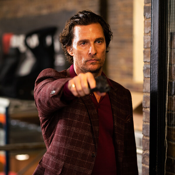 Magnatas do Crime | Entrevista com Matthew McConaughey