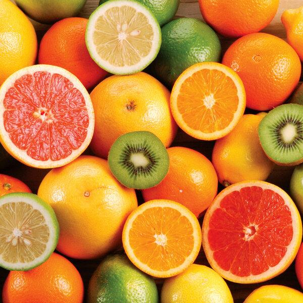 A importância das frutas cítricas