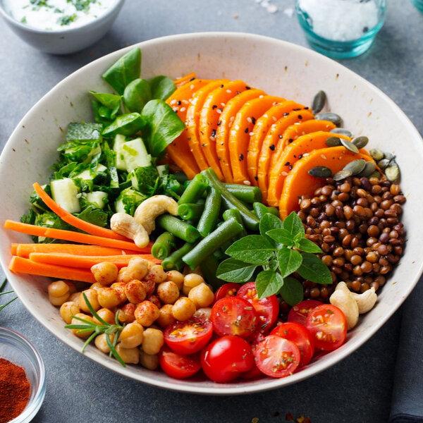 Como montar um prato vegetariano ideal?