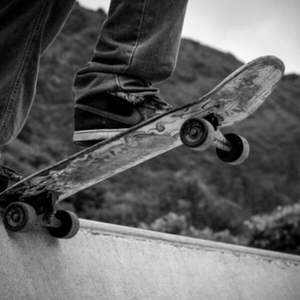 Demonstrações do skate
