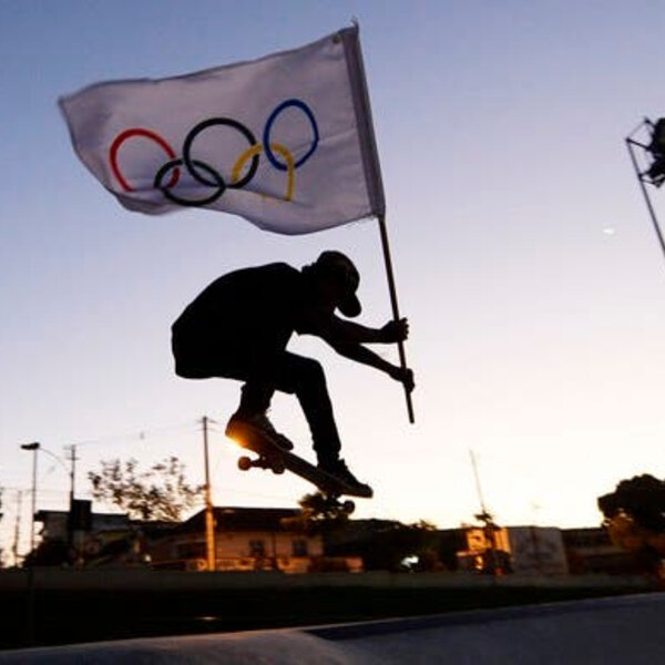 Skate estreia nas olimpíadas no próximo sábado !