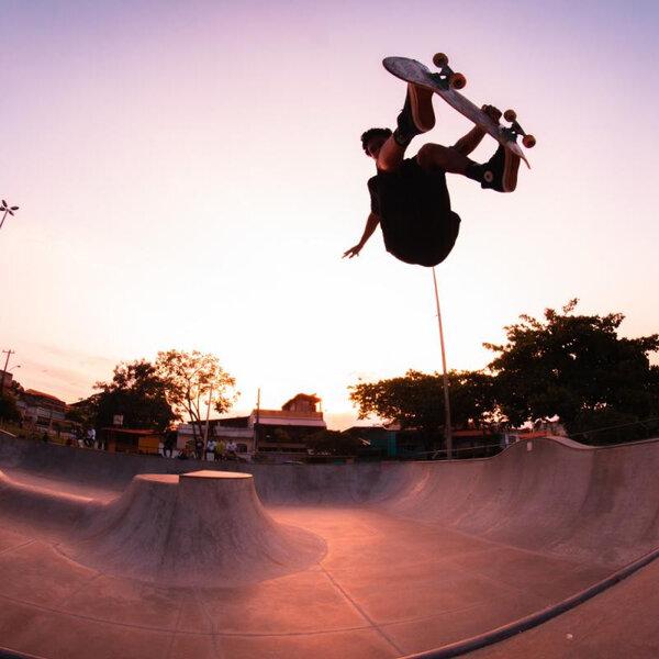 Skate nos jogos Estudantis Brasileiros