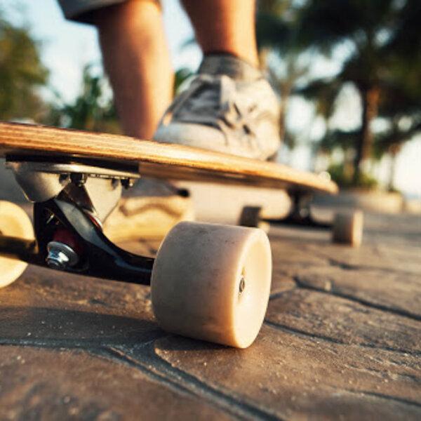 A evolução das rodas do Skate
