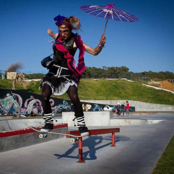 Carnaval e skate, tudo a ver!