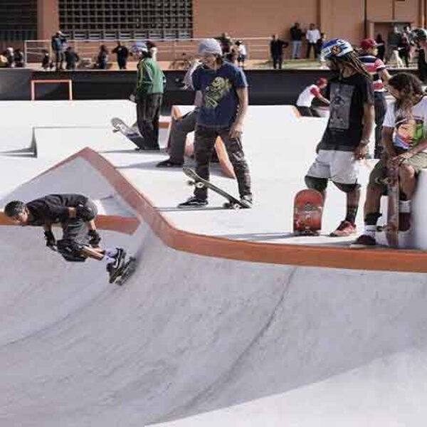 Parceria entre a Associação dos Skatistas do Rio com a Secretaria Municipal de Esportes