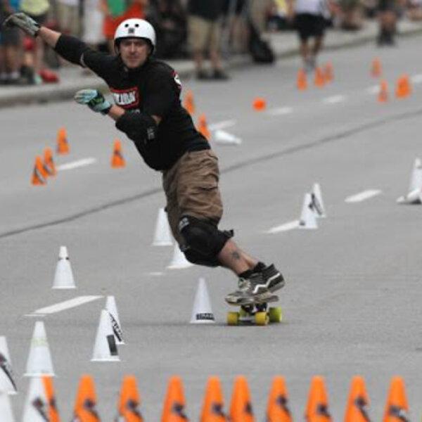3ª etapa do Circuito Mundial Online de Skate Slalom