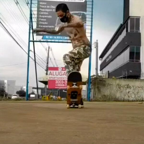 Freestyle Skateboarding Online Contest Brasil