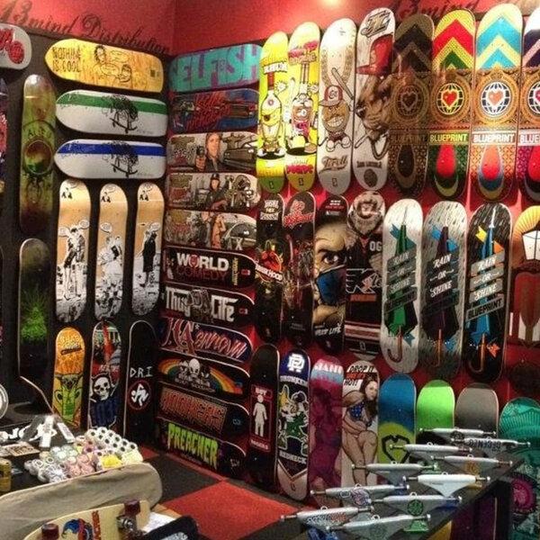 Compras de skate para o Natal