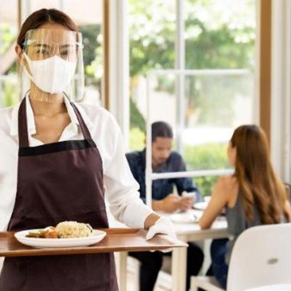 Comer em restaurante na pandemia