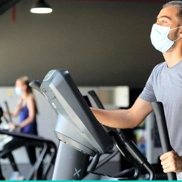 Estou querendo voltar à academia, mesmo de máscaras eu corro riscos?