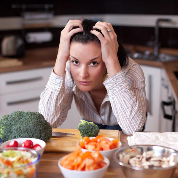 Preocupação com a alimentação
