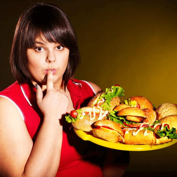 Descontrole alimentar e dieta