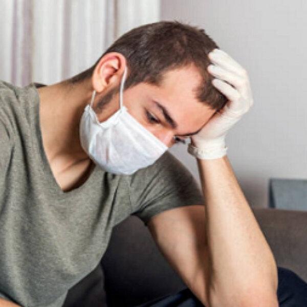 Ansioso e entediado com a pandemia