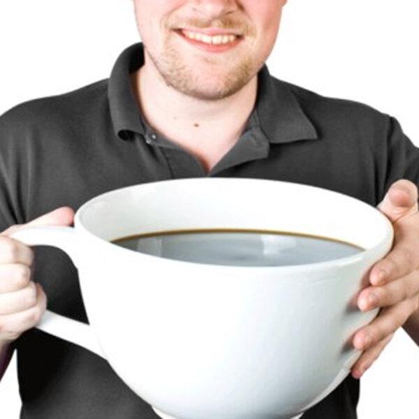 Excesso de café pode fazer mal