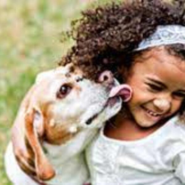 A relação entre os animais de estimação e as crianças