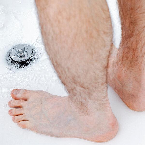 Xixi no banho