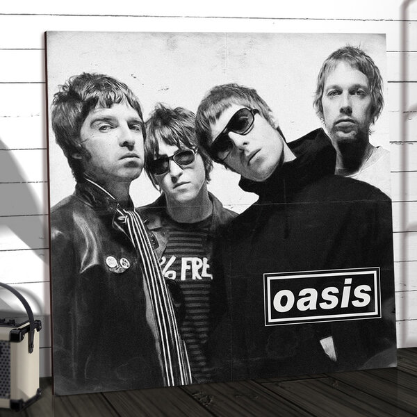 O hit absoluto do Oasis lançado em 1995 que ocupa, há algum tempo, o Top 200 do Spotify