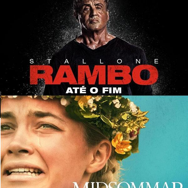 Filmes: Rambo - Até o Fim ; O Mal Não Espera a Noite - Midsommar