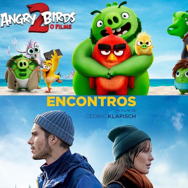 Angry Birds 2: O Filme   Encontros