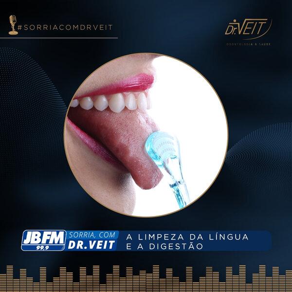 A limpeza da língua e a digestão